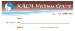 KALM Gift Certificate