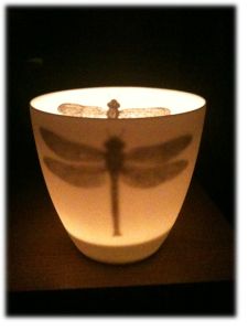 dragonfly tealight